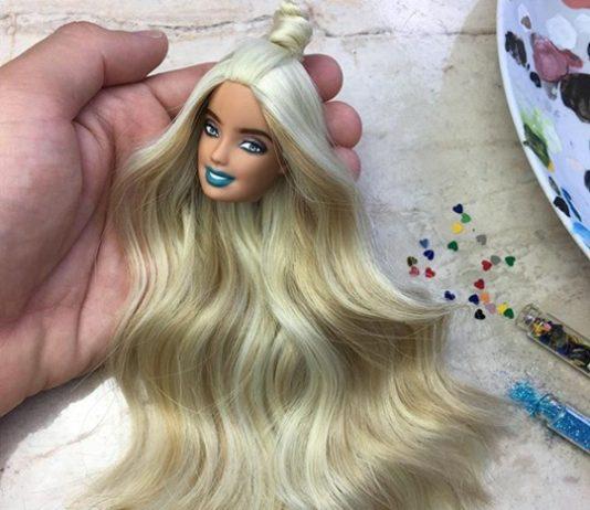 Barbie total makeover