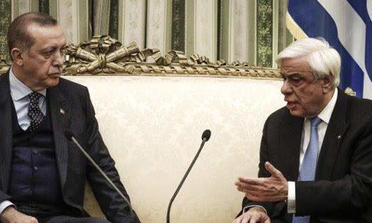 Συνάντηση Ερντόγαν - Παυλόπουλου