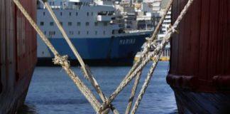 Δεμένα πολλά πλοία στα λιμάνια λόγω καιρού