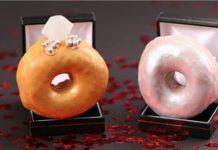 Δαχτυλίδια αρραβώνα φτιαγμένα από donuts!