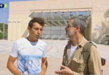 Ο Βλάσης Καραβασίλης στην εκπομπή «Εντός Αττική» για τον Μαραθώνιο