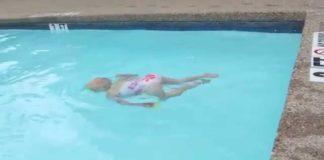 Πόσο εύκολα μπορεί να πνιγεί ένα μωρό σε πισίνα; - Το βίντεο που έγινε viral