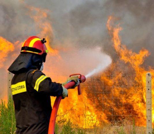 Κίνδυνος για φωτιά: Σε ποιες περιοχές είναι αυξημένος σήμερα