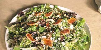 Συνταγή για Πράσινη σαλάτα με σύκο και παρμεζάνα από τον Πάνο Δερδεμέζη