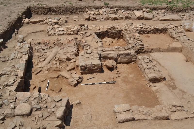 Αρχαιολογικός χώρος στο Πλάσι Μαραθώνα - Πανεπιστημιακή ανασκαφή ΕΚΠΑ